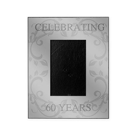60th Wedding Anniversary Picture Frame | Wedding anniversary pictures
