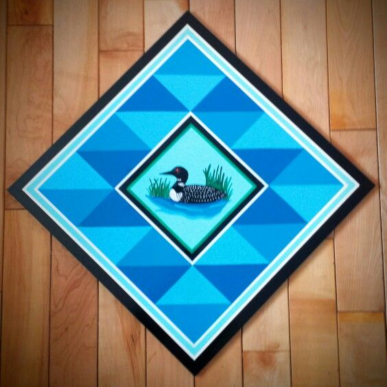2x2 Loon Barn Quilt | Buy a Barn Quilt | Pinterest | Barn quilts ... : buy barn quilts - Adamdwight.com