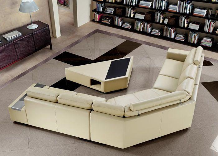 Modern Contemporary U Shaped Sectional Sofa