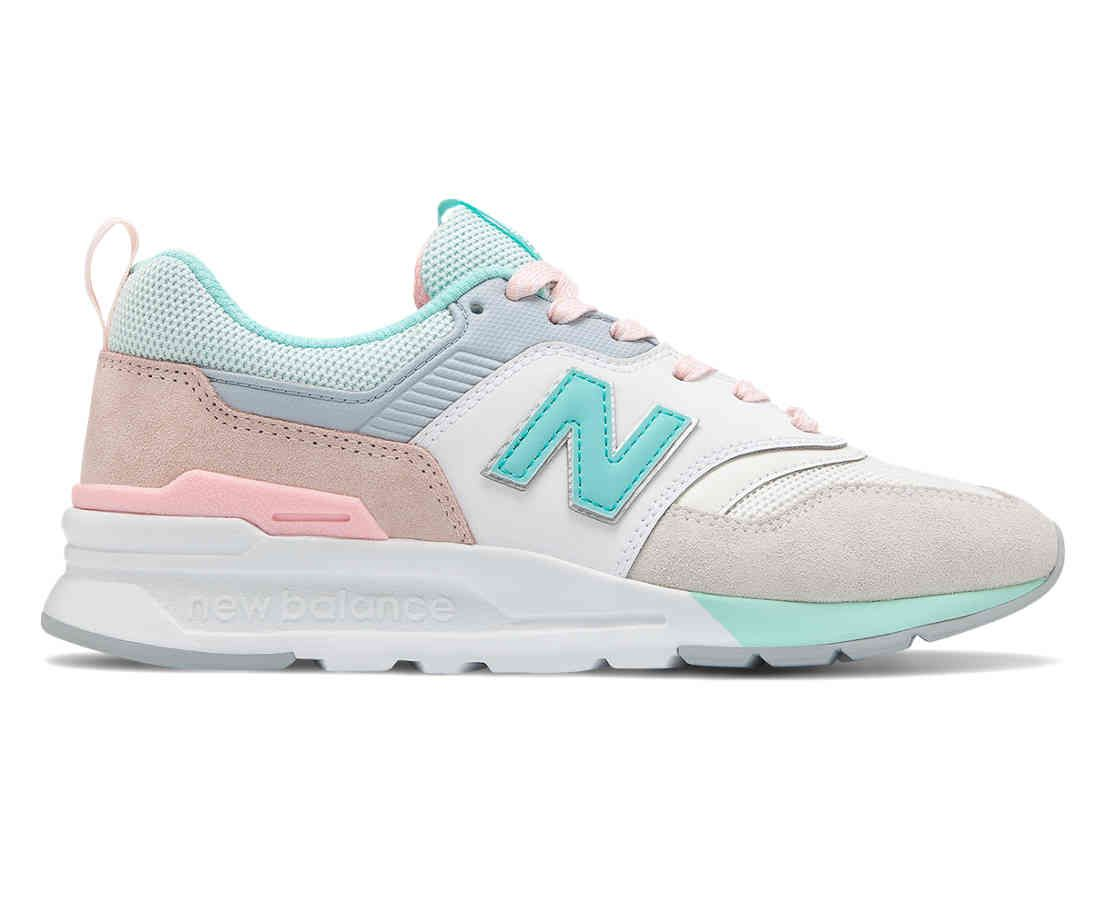 New Balance pastel sneakers 997H | Casual sneakers women ...