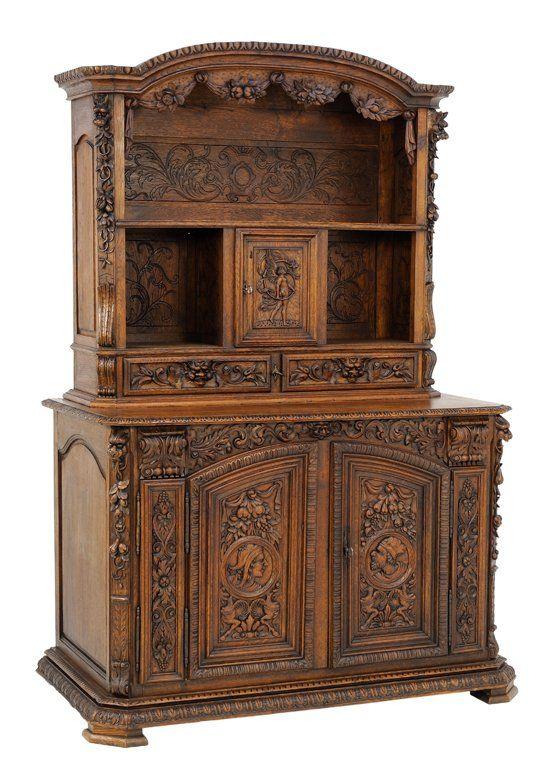 A French Renaissance Revival Style Buffet Lot 0089 Antikvarnaya