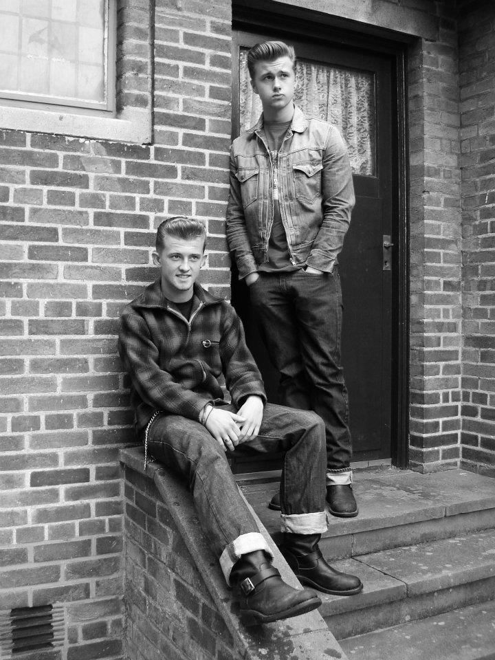 greasers 1950s fashion