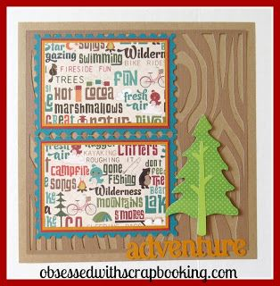 [Video] Close to My Heart Artbooking Great Outdoors Layout