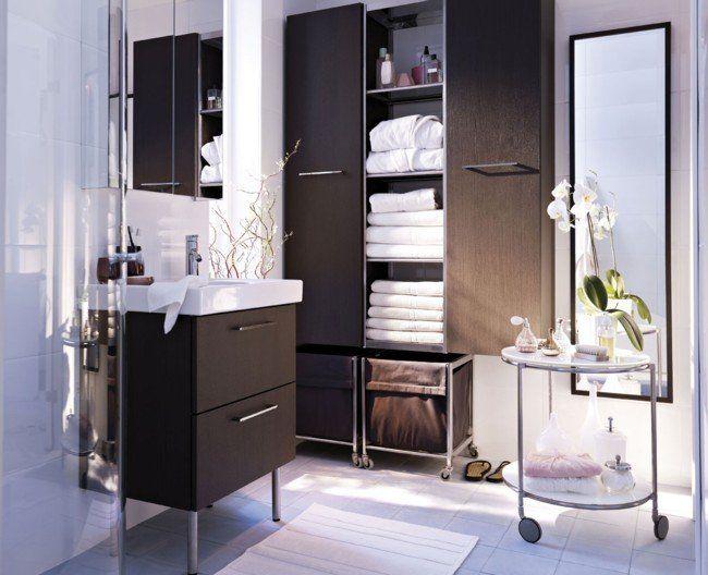 Armario de ropa de ba o en pinterest armario ropa de - Banos pequenos ikea ...
