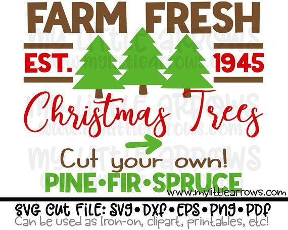 Christmas Tree Farm Sign Svg Tree Farm Sign Dxf Christmas Christmas Tree Farm Christmas Svg Files Cricut Explore Projects