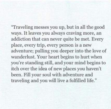 You Will Love These Splendid Travel Quotes
