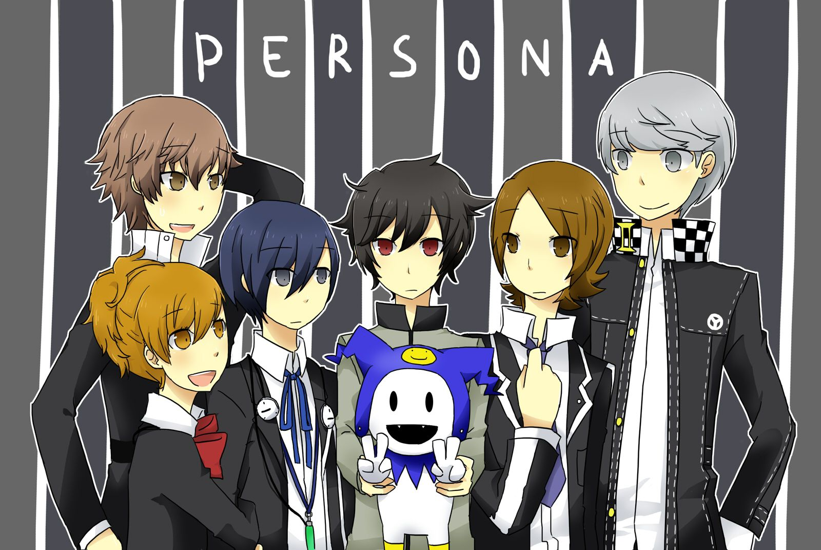 Persona Series Image 666295 Zerochan Anime Image Board