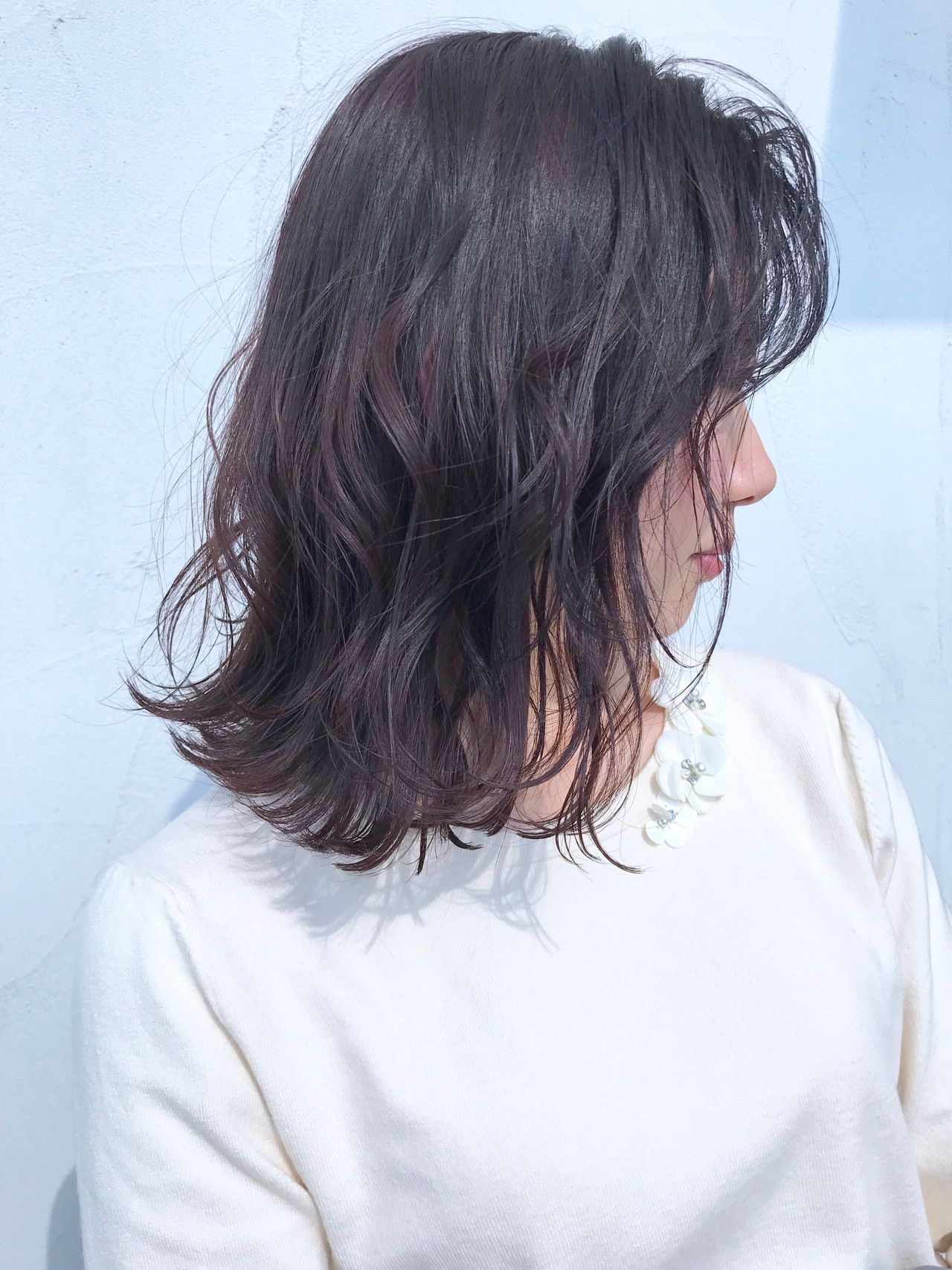 ダークブラウンで旬顔になれる 今っぽ髪色大特集 Hair 髪 色