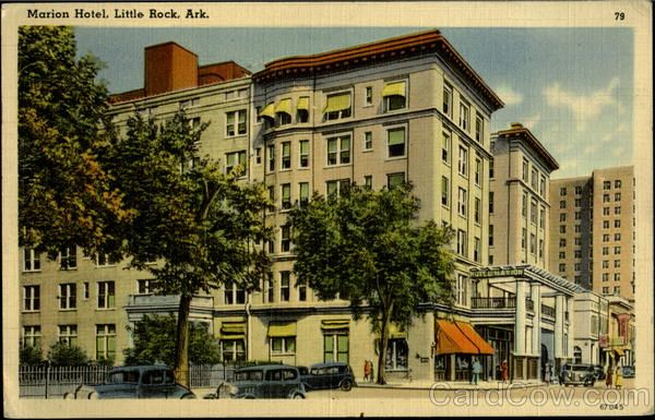 1942 Marion Hotel Little Rock Arkansas