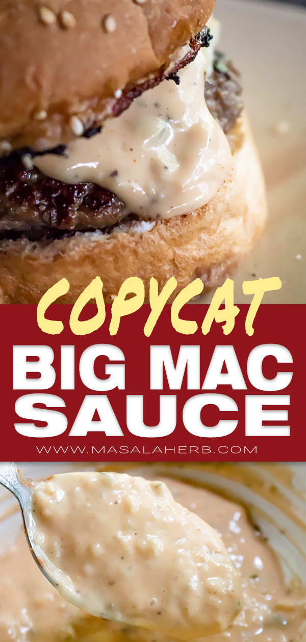Big Mac Sauce Recipe Copycat ready in 5 minutes! This is ...