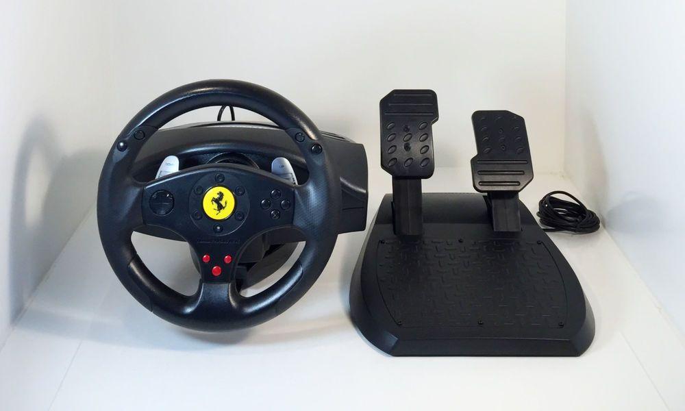 Thrustmaster Ferrari Gt 3 In 1 Racing Wheel Petals V 2 Pc Ps3 Wheels For Sale Racing Wheel Ferrari