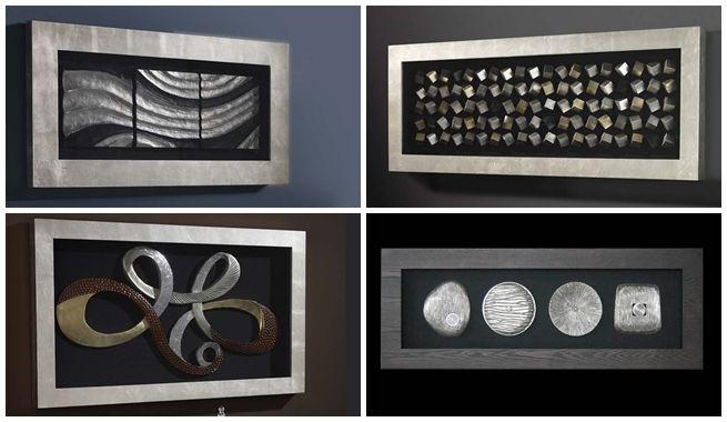 Decorar Con Cuadros Modernos En Relieve Batik Pinterest - Cuadros-modernos-con-relieve