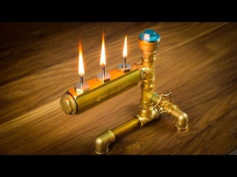 DIY Pipe Lamp Switch made with water faucet handle ...