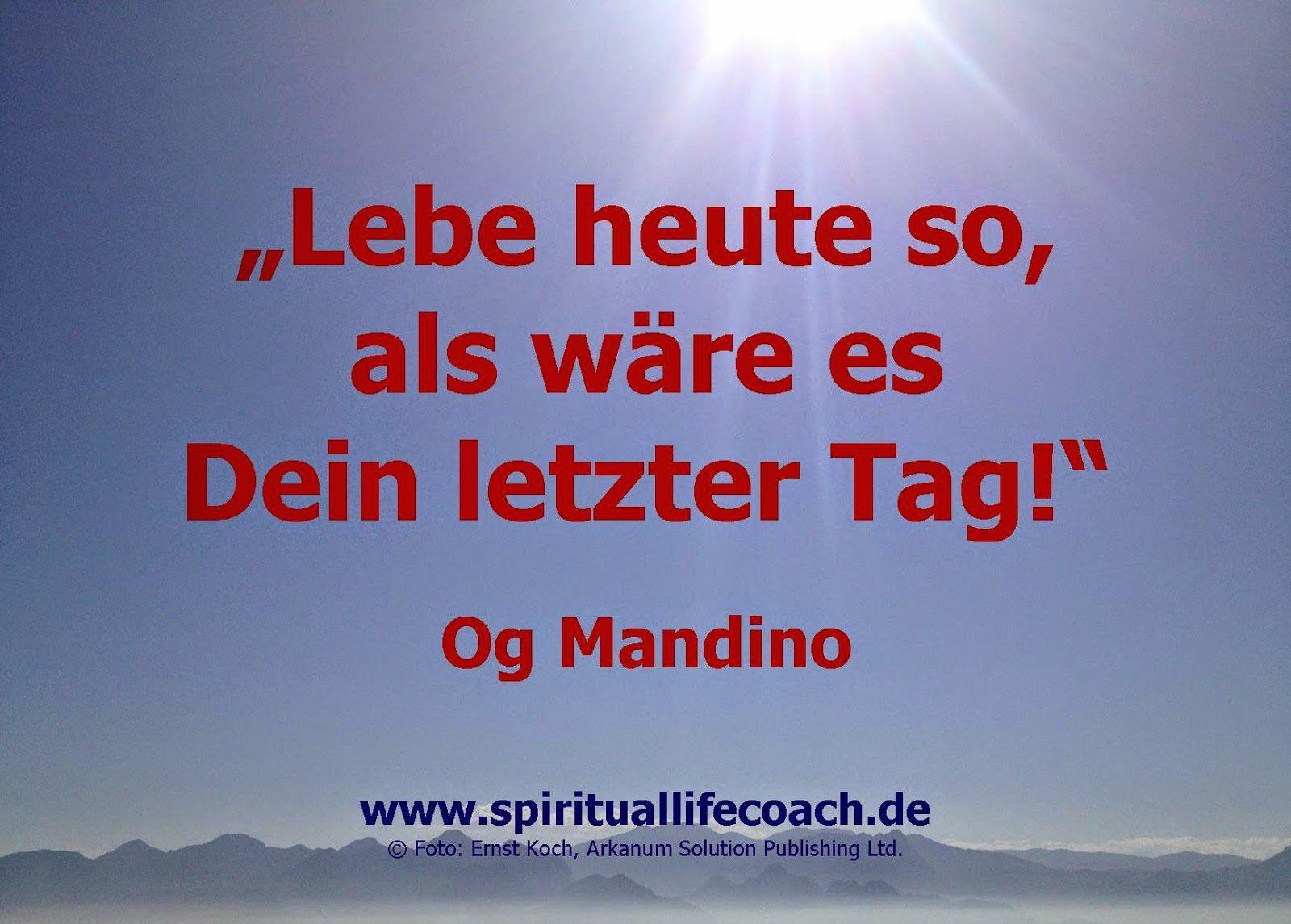 Lifecoach Ernst Koch Spiritual Healer Teacher Lebe Heute So