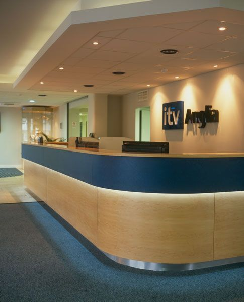 Itv anglia make a professional first impression at their reception led strip lighting is a leading uk supplier of high quality led tape led light strip cut to size mozeypictures Choice Image
