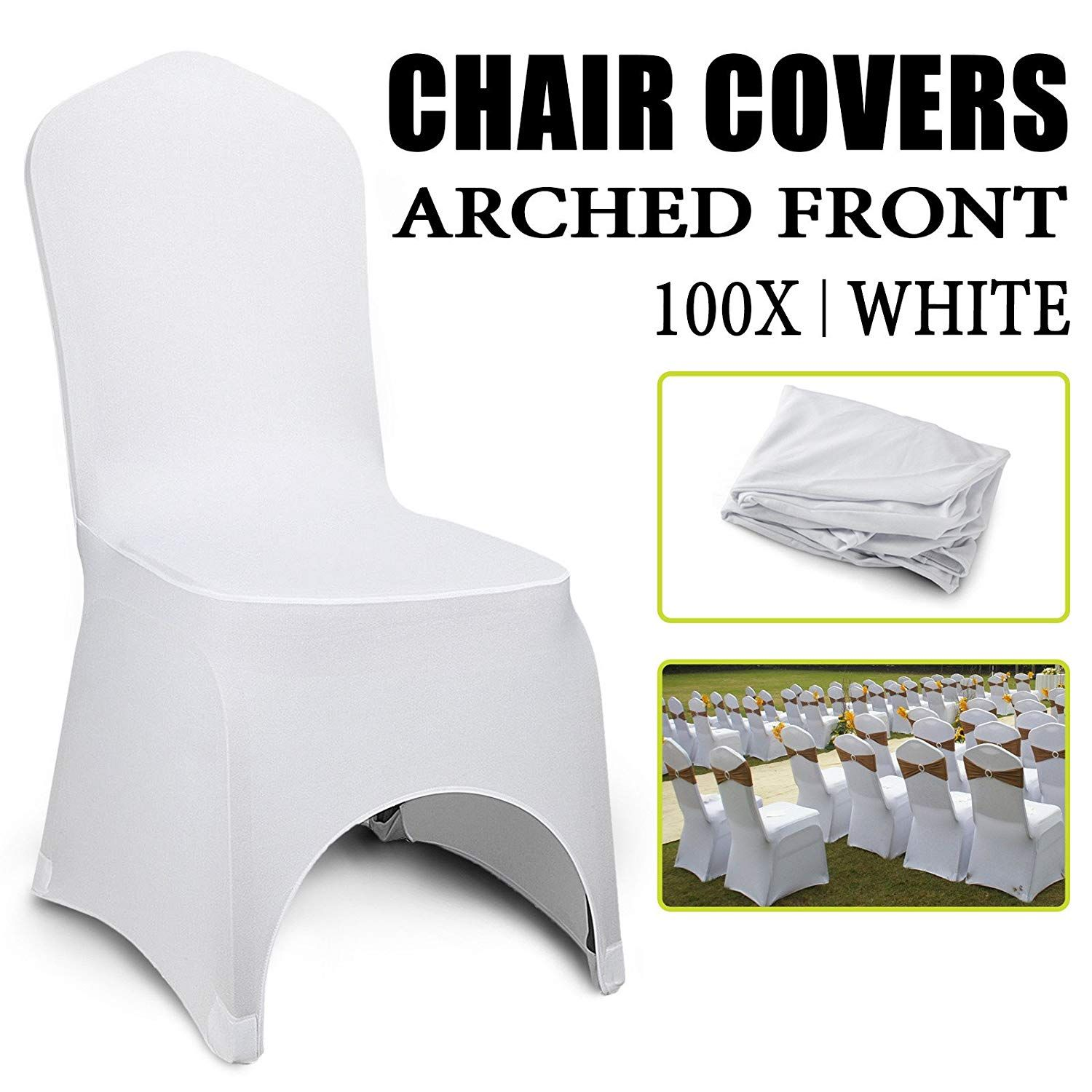 Home in 2019 Dining chair covers, Chair covers, White