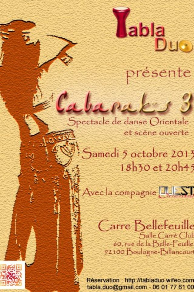 Prochain spectacle !