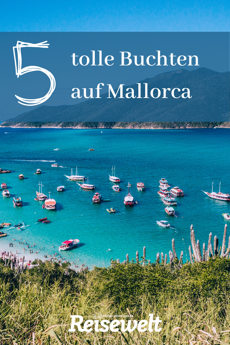 Mallorca boomt wie eh und je, die Strände sind voll, die Hotels in der Sommersaison ausgebucht. Und dennoch: Es gibt sie, die ursprünglichen und romantischen Buchten jenseits von Ballermann und Touristenmassen. Wir zeigen euch fünf Buchten, die euch im Urlaub so richtig entspannen lassen. Natürlich sind bei unseren fünf Reisetipps auch richtige Geheimtipps dabei.   #mallorca #tipps #reise #urlaub #geheimtipps