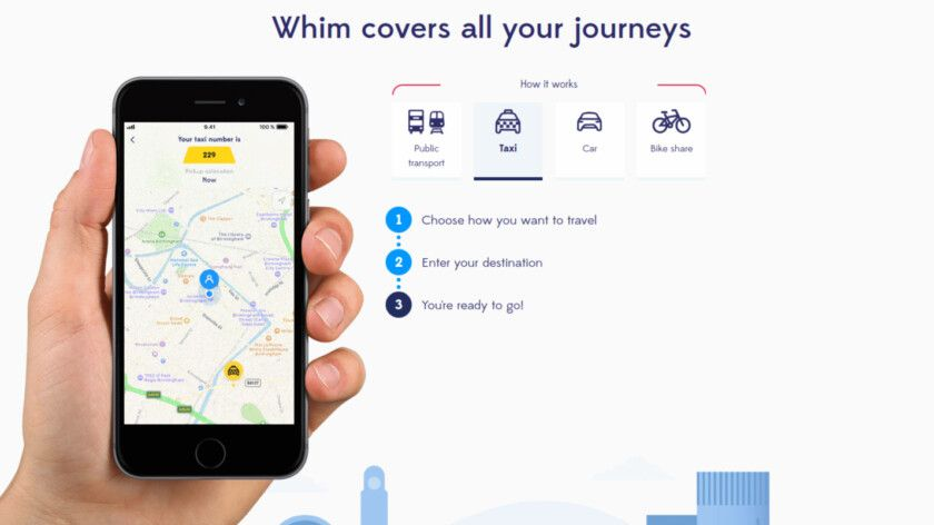 Ridesharing service Whim to launch in the US, should Uber