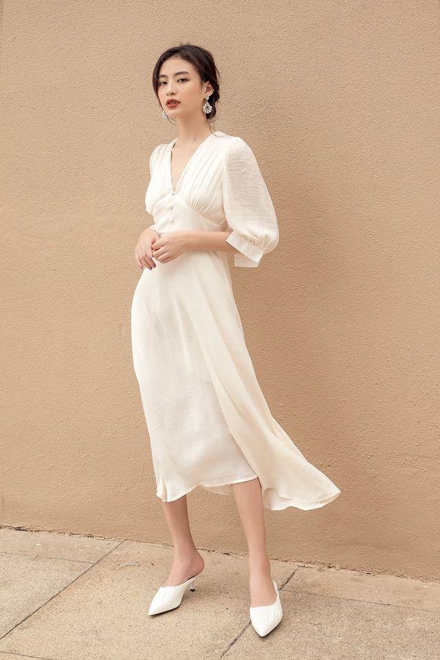 white dress #spring