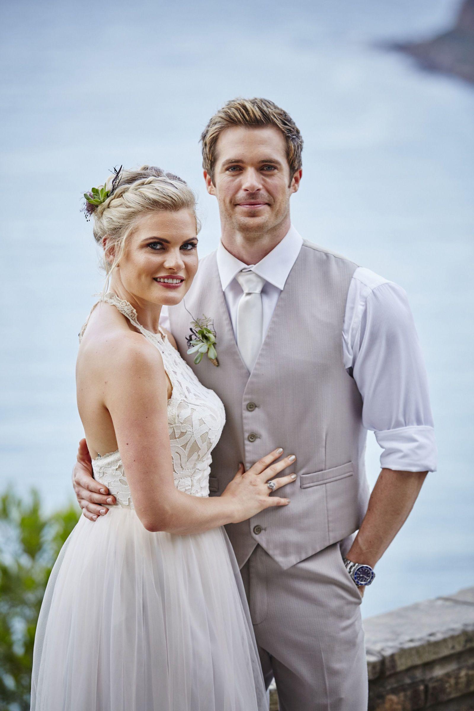 Home and away leah wedding dress designer