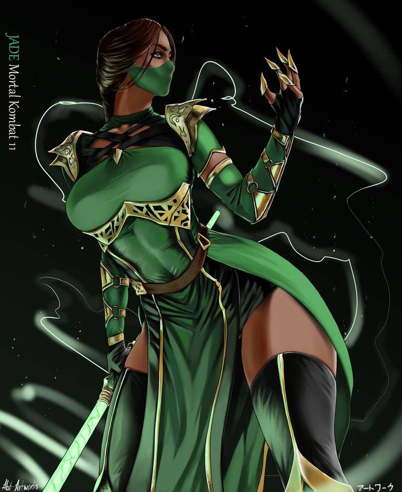Jade By Atit Artworks Mortal Kombat Art Jade Mortal Kombat