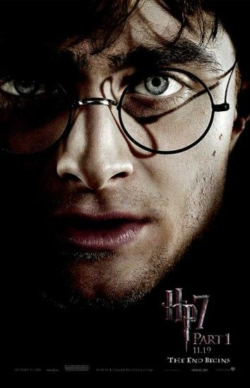 11x17 Inch This Harry Potter and The Deathly Hallows Part 1 Movie Poster features a close-up of Harry Potter. Get it now at http://harrypottermovieposters.com/product/harry-potter-and-the-deathly-hallows-part-1-movie-poster-style-n-11x17-inch-mini-poster/
