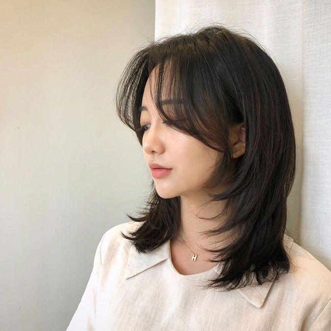 21 kiểu tóc ngang vai lỡ cỡ nhưng ghi điểm xinh tr