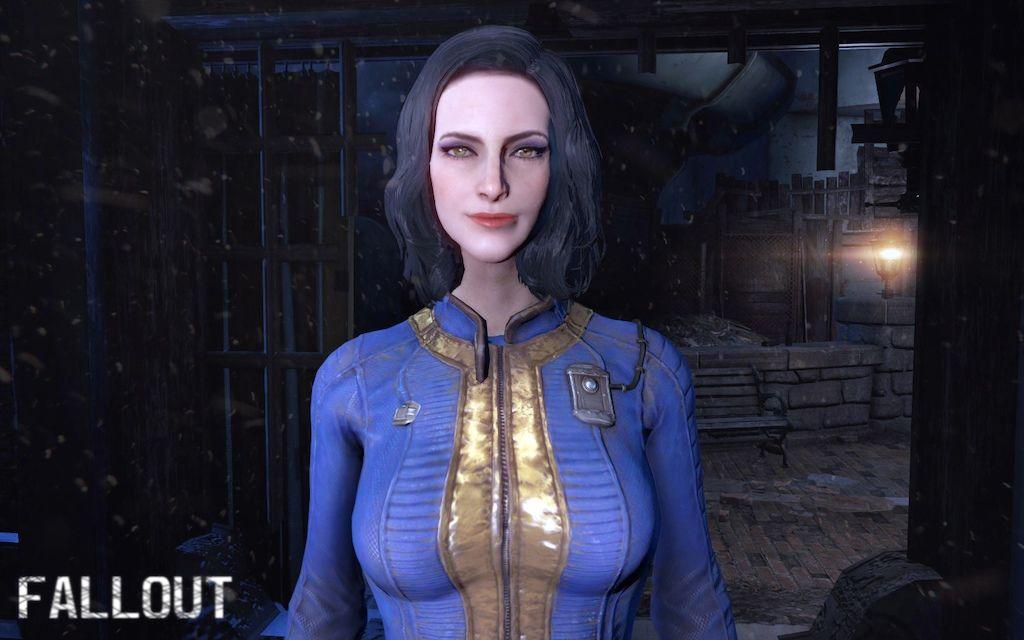 Vault girl sarah
