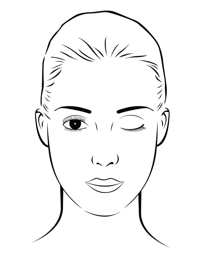 опыт картинки для макияжа для распечатки как делать