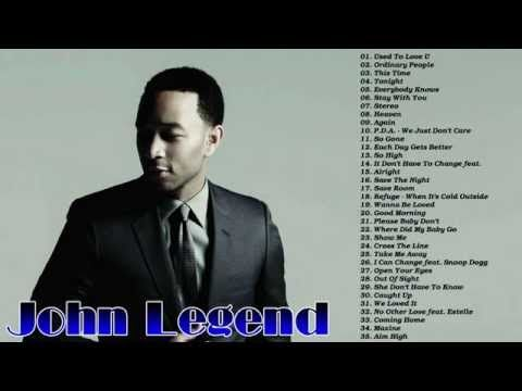 John Legend's Greatest Hits Best Songs Of John Legend ...