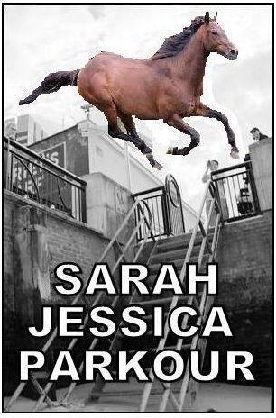 Sarah Jessica Parkour LOL