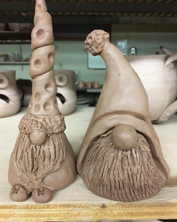 Gnome the night away !!! Prepare these guys for the gnome world ... ... -  Gnome the night away !!! Prepare these guys for the gnome world … – Fimo – #Bereite #the #Thi - #ceramicart #ceramicpottery #gnome #guys #handmadeceramics #night #prepare #these #world