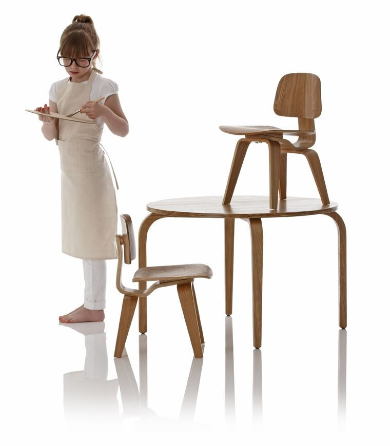 Kids Replica Of The Classic LCW Table And Chair Set (by Little Nest)