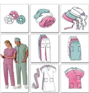 718e41ca521 Image result for Bouffant Surgical Scrub Hat Sewing Pattern Free  Instructions  BouffantHairBeehive