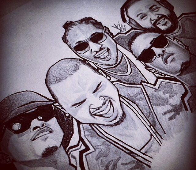 Dope ass drawing breezy bae pinterest chris brown and dj khaled ft chris brown august alsina future jeremiah hold you down altavistaventures Images