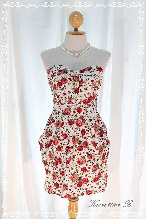 A Lovely Queen III  Strapless Classic by LovelyMelodyClothing, $46.60