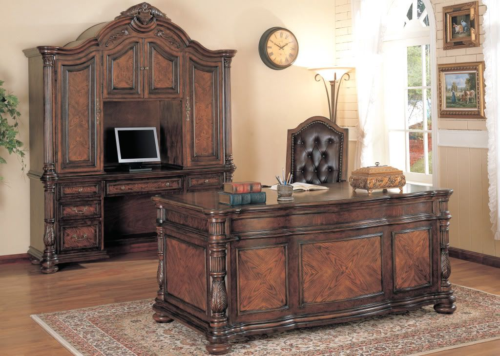 images about desk on pinterest furniture old world and home office sets executive  wooden classic