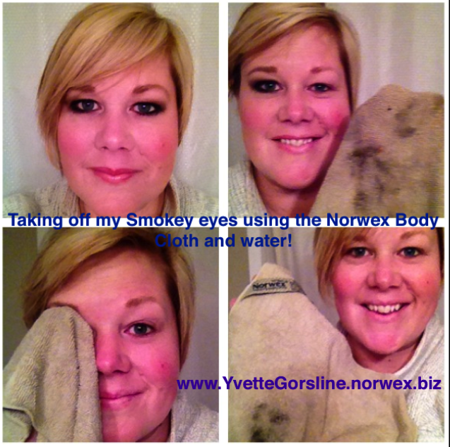 I LOVE NORWEX! Use only water and the Norwex body cloth