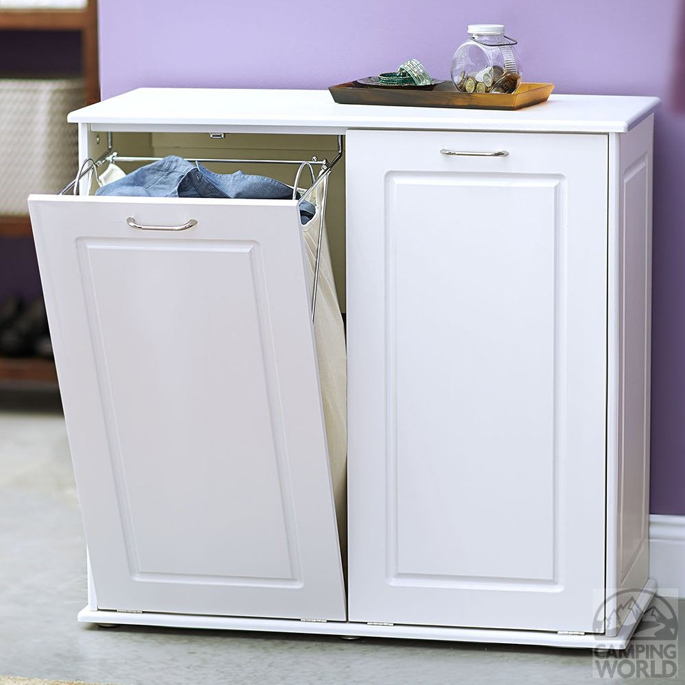 Tilt Out Laundry Cabinet Sorter - Household 18400-1 - Laundry Aids ...