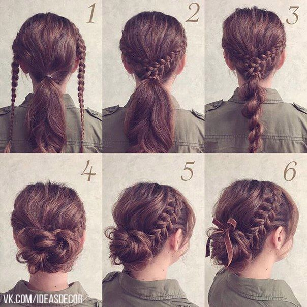 Ideas and Decor | VK | Medium hair styles, Long hair ...