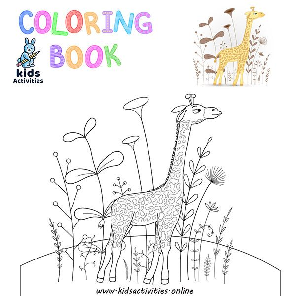 Free Animal Coloring pages kindergarten pdf in 2020 | Zoo ...