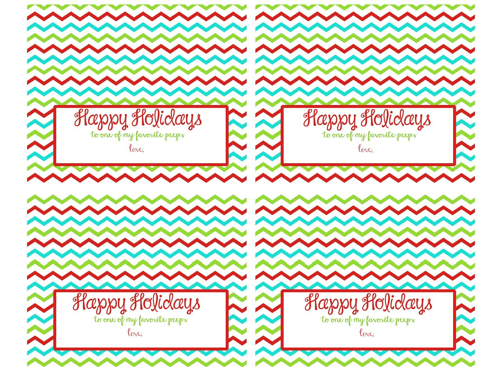 Holiday Peeps S Mores A Free Printable