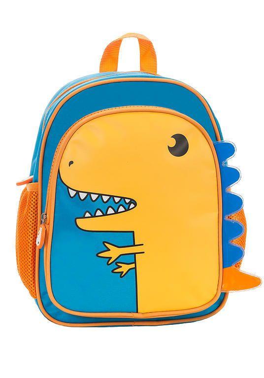 Rockland Jr Kids Backpack Dinosaur School Bag Glow in the Dark ...