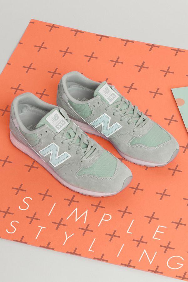 New Balance 996: Light Green | New