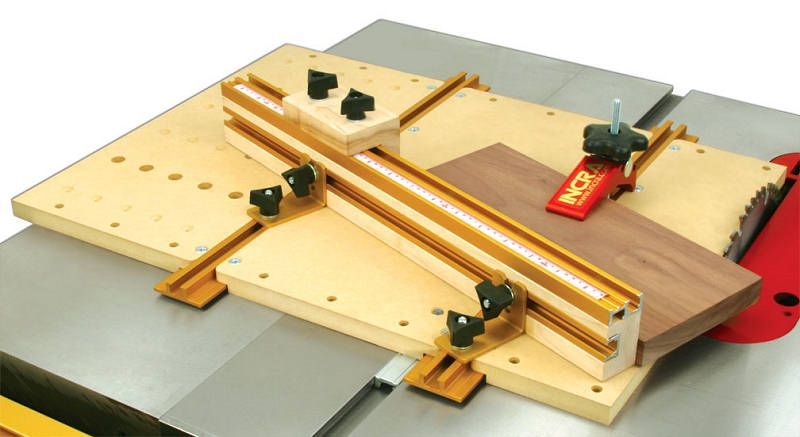 T Tracks And Other Components Of The Incra Build It Modular Jig