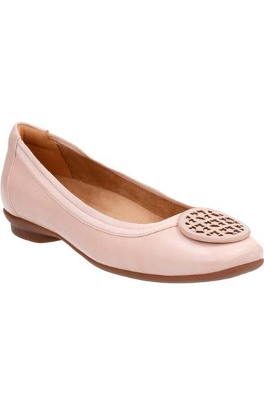 2dbf93c48cf7 Clarks®  Candra Blush  Flat (Women) available at  Nordstrom ...