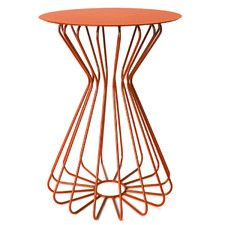 """Ribbon 22"""" H Side Table"""
