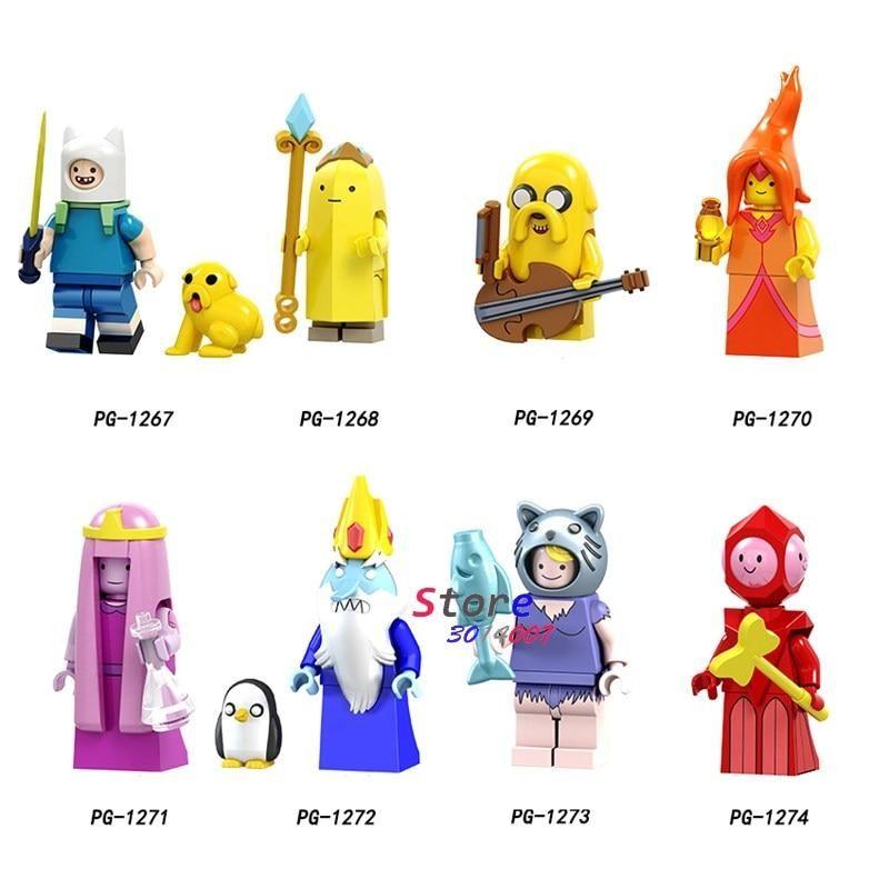 Cartoon Movie Adventure Time Finn Banana Guard Jack Flame