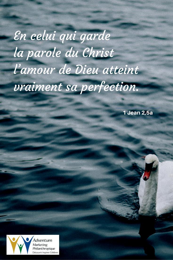 4 novembre 2016 – 1 Jean 2,5a | Texte biblique, Biblique, Psaumes
